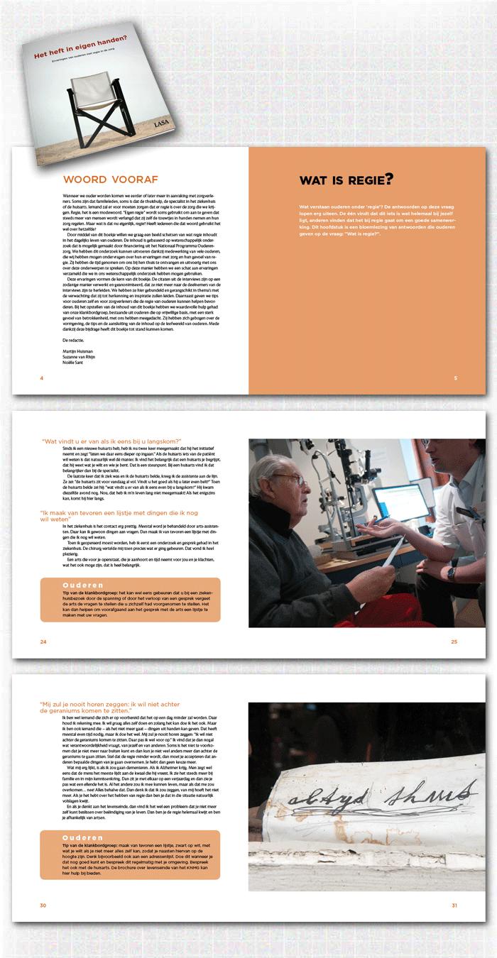 spreads binnenwerk boek Het heft in eigen handen?, een voorbeeld uit de categorie zelfstandige publicaties en studieboeken uitgegeven door VU University Press